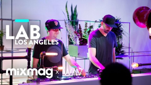 CHRISTIAN MARTIN and LENNY KISER b2b in The Lab LA