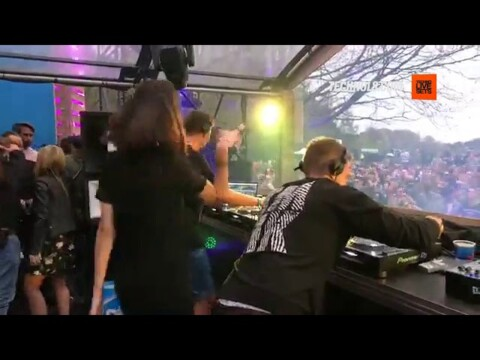 Amelie Lens B2B Pan Pot at the Exhale stage