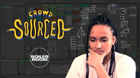 Ouri makes music with sounds you send in | Boiler Room 'Crowdsourced'