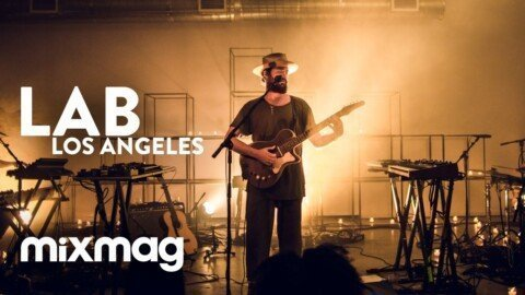 RY X live set in The Lab LA