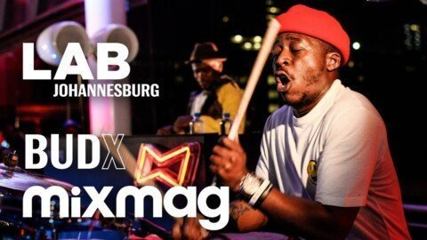 Black Motion epic live drum afro house set in The Lab Johannesburg