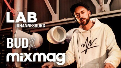 Kid Fonque smooth house set in The Lab Johannesburg