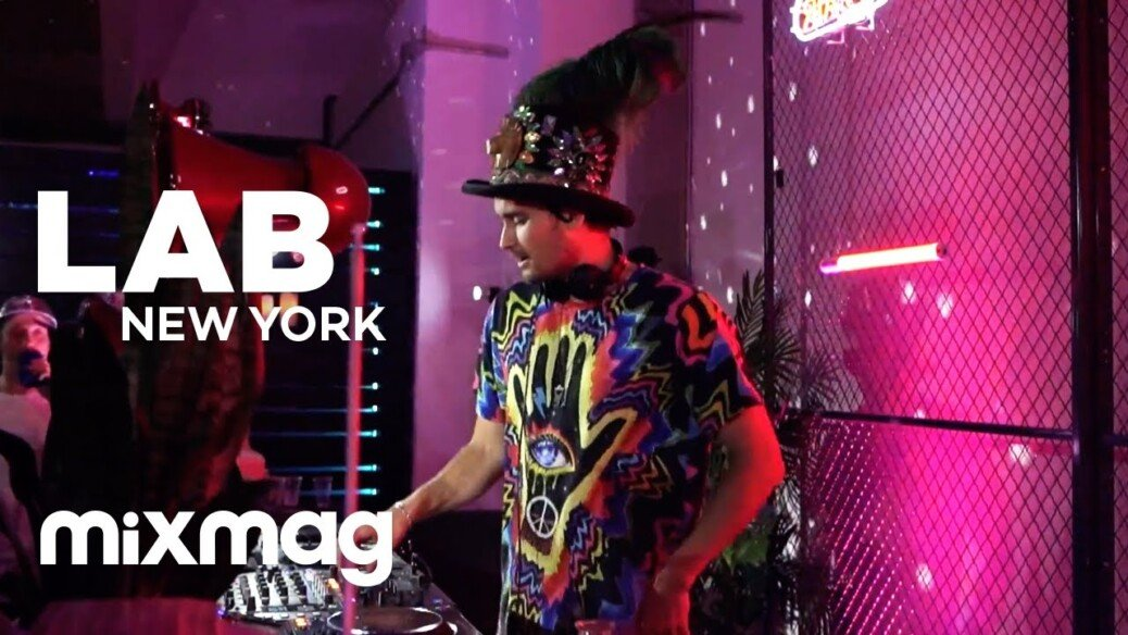 MIKEY LION tech house set in The Lab NYC