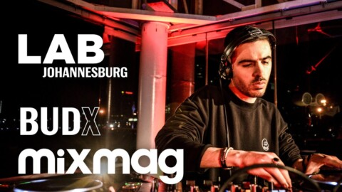 Rising South African star Jullian Gomes in The Lab Johannesburg