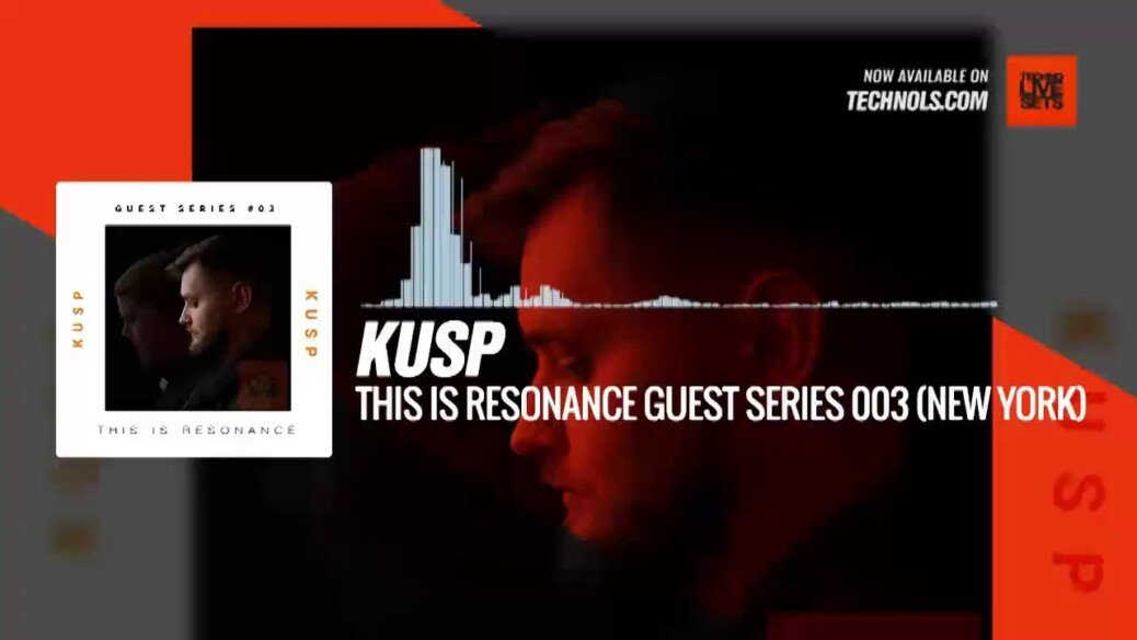 KUSP - This Is Resonance Guest Series 003 (New York) @scottcamello #Periscope #Techno #music