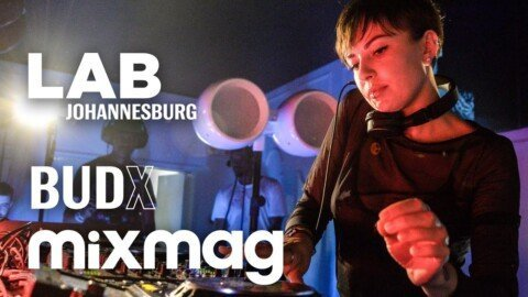 Nastia thundering techno set in The Lab Johannesburg