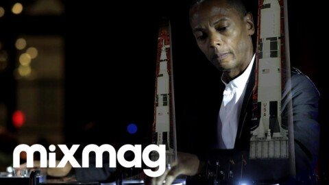 Jeff Mills live techno set for Apollo 50 Moon Landing