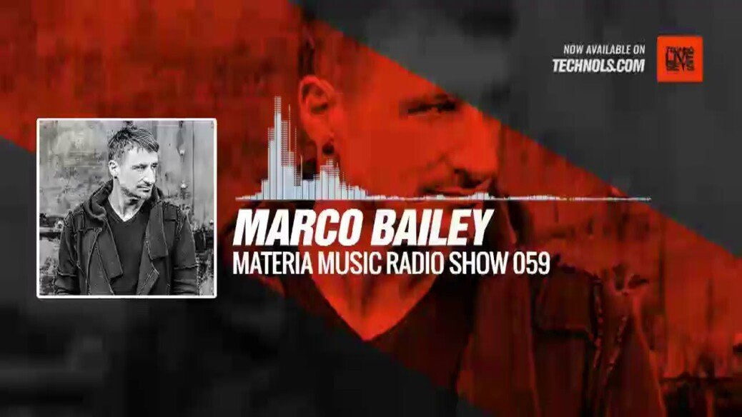 Marco Bailey at Tomorrowland 2019 (MATERIA Music Radio Show 059) @marcobailey