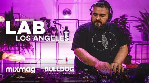 Truncate techno set in The Lab LA | Bulldog Gin