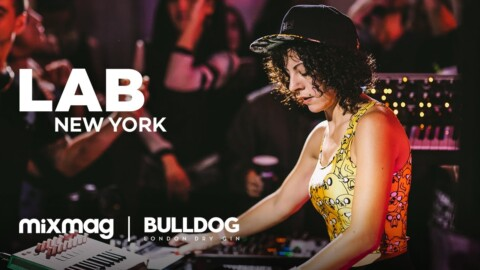 Giorgia Angiuli LIVE techno set in The Lab NYC | Bulldog Gin
