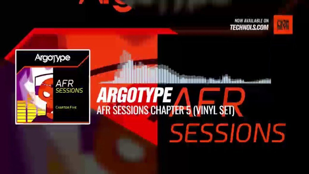 Techno set: Argotype - AFR Sessions Chapter 5 (Vinyl Set)