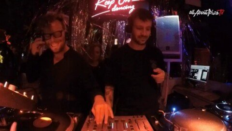 Andrea Fiorito B2B Luca Cazal  x Keep On Dancing  at Bora Bora Ibiza © www.Allaboutibizatv.net