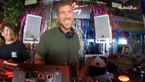 Cesar Vincent B2B Isbel x Keep on Dancing at Bora Bora Ibiza © www.Allaboutibizatv.net