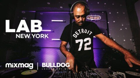 Mike Huckaby strictly vinyl set in The Lab NYC