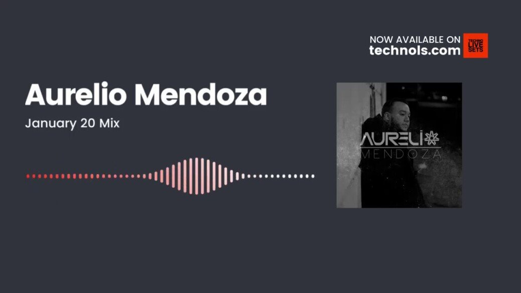Techno Music: Aurelio Mendoza – January 20 Mix @amendozanyc