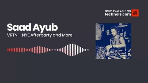 Techno Music: Saad Ayub - VRTN 13-1-2020 - NYE Afterparty and More