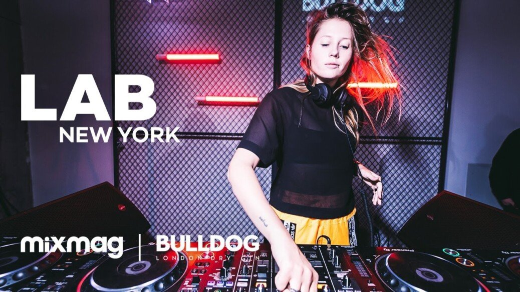 Charlotte de Witte thundering techno set in The Lab NYC