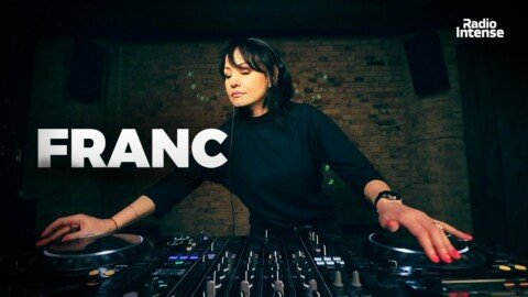 Franc - Live @ Radio Intense Kyiv 11.02.2020 // Melodic Techno Mix