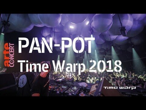 Pan-Pot – Time Warp 2018 (Full Set HiRes) – ARTE Concert
