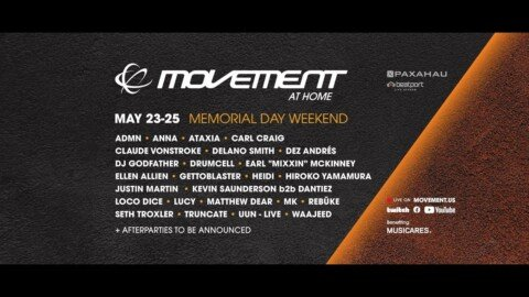 Day 1: Movement Festival At Home: MDW 2020 | @Beatport Live