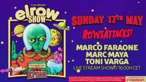 @elrowSHOW: Rows Attacks!   @Beatport Live