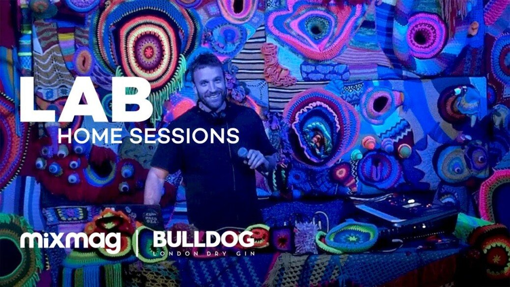 Guti live set in The Lab: Home Sessions