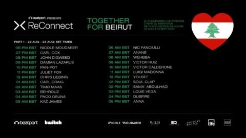 @Beatport ReConnect: #TogetherForBeirut - Part One