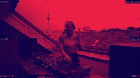 Ellen Allien Balcony Streaming 1st of May