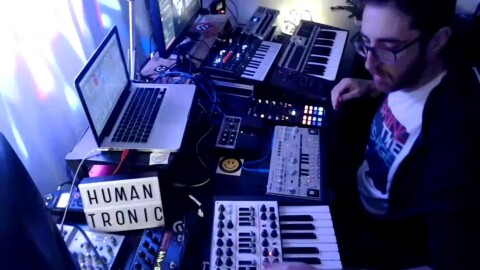 Humantronic at #Techno Cosnecration #Festival on Virtual Clubbing Life