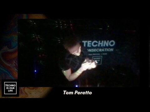Tom Peretto at #Techno Consecration #Festival on Virtual Clubbing Life