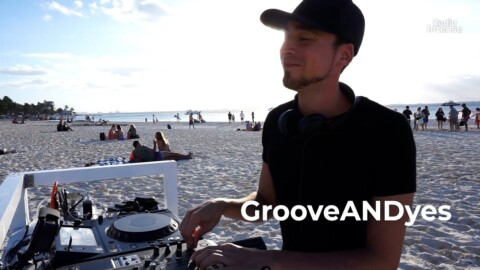 GrooveANDyes - Live @ Radio Intense, Islas Mujeres, Mexico 23.02.2021 / Techno DJ Mix