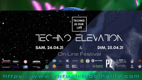 MAX DERMAN #Techno Is Our Life #Festival April 2021 #Montpellier